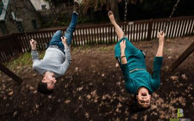 Morris Arboretum Engagement Session – Leah & Joel