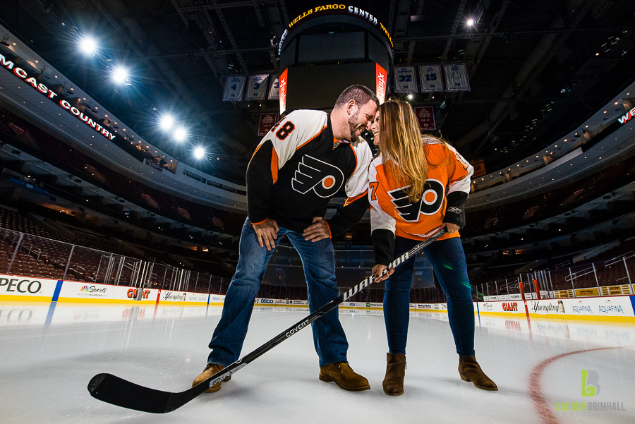 Wells Fargo Center Engagement Session