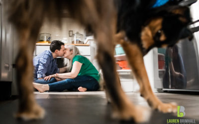 Engagement Session with Pets – Adina & Christian