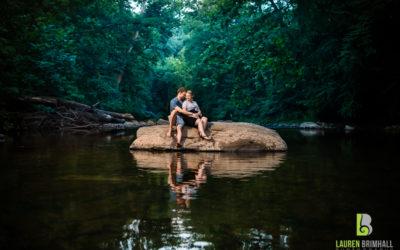 Wissahickon Valley Park Engagement – Becca & Chris